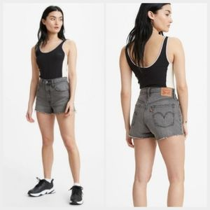 NEW Levi's 501 High Waist Cut Off Shorts